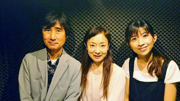 ミノワ、リカさん、藤谷桃さんと記念撮影